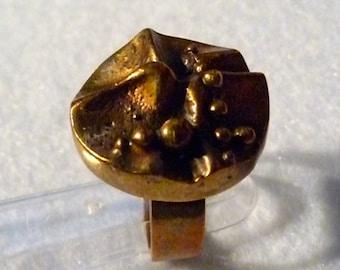 Ring. Hannu Ikonen (Finland). Bronze.