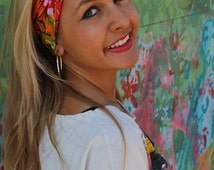 Tropical Fever Turban Twist Headband by Angelika Gale for Bohemians // Spring, Summer, Fall, Winter