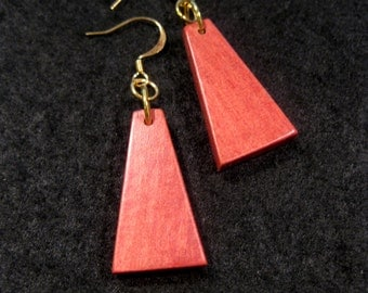 Pink Ivory Earrings