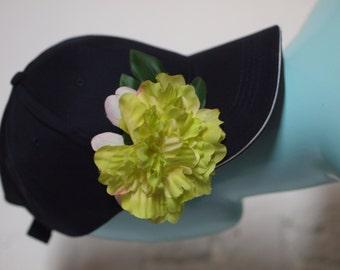 Green Bloom Navy Festi Cap