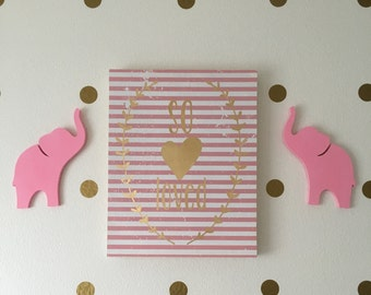 Wooden Animal Wall Hanging Silhouettes- 7 Styles!