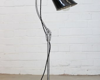 Vintage Industrial Desk lamp By Walligraph Circa 1940's