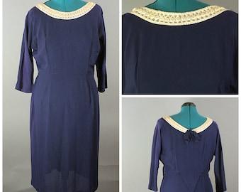Betty Dress 1950 Plus Size Sheath Dress