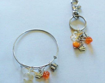 CLEARANCE Taking Chances Inspired Charm Bangle OR Purse Charm