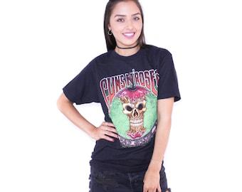 90s Guns N Roses Bad Apples Promo 1991 Tour T Shirt