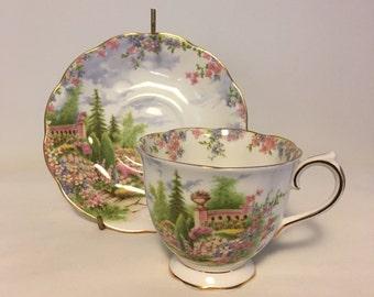 Royal Albert Kentish Rockery Countess Cup and Saucer