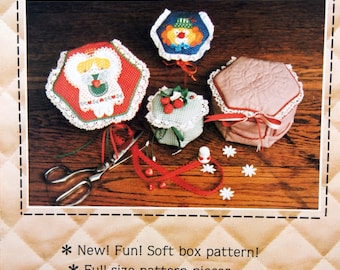 Soft Box II By Lanna Blumberg And Patch Press Uncut Vintage Sewing Pattern 1981
