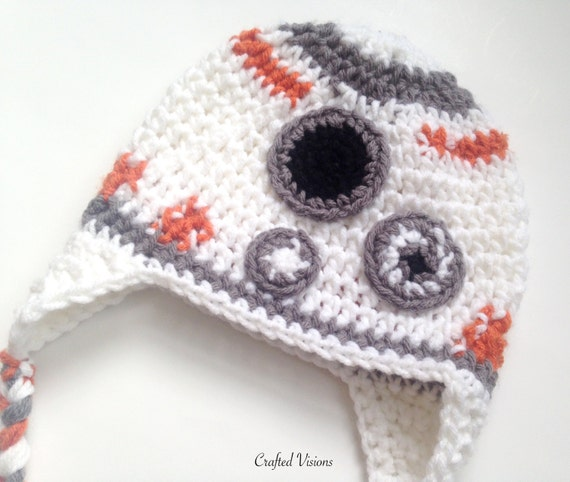BB8 Crochet Hat Pattern