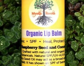 Organic Lip Balm with Natural SPF