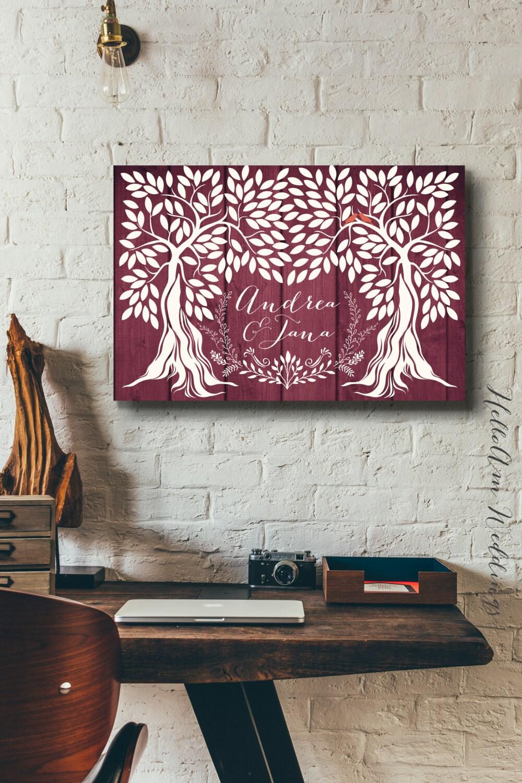 Wedding guest book alternative - Wedding guest book canvas - Wood wedding guest book - Wood wedding signs - guest book register - guestbook