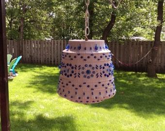 Blue Lawnware Camper/Patio Lamp/Light 2310