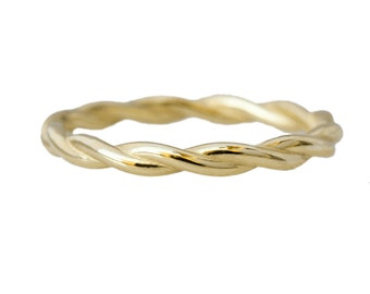 Twisted 14kt Gold Ring