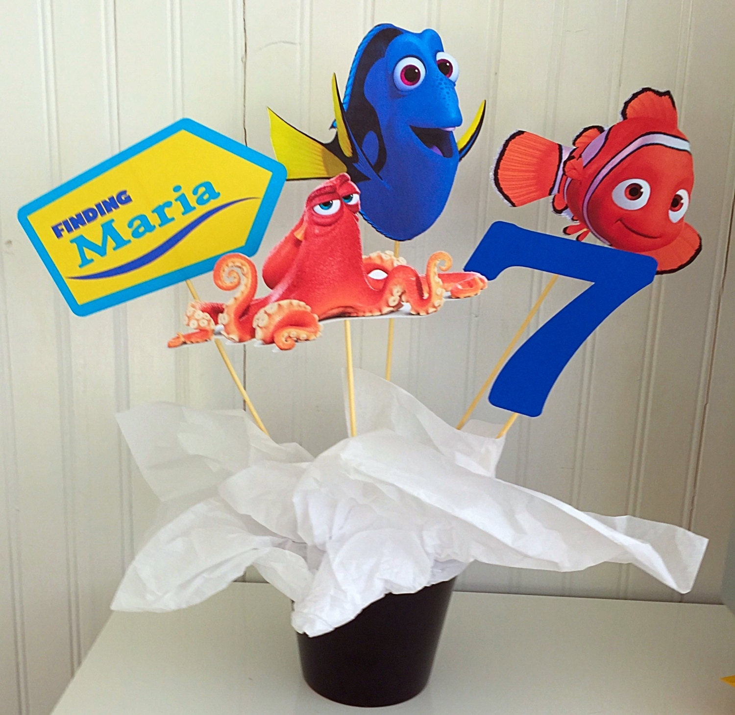 Diy Finding Dory Cake Decoration