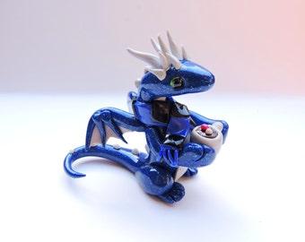 Winter Coffee Dragon