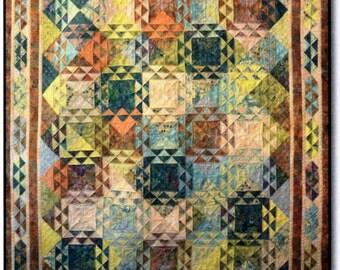 """Italian Fresco Quilt Kit 73"""" x 92"""""""