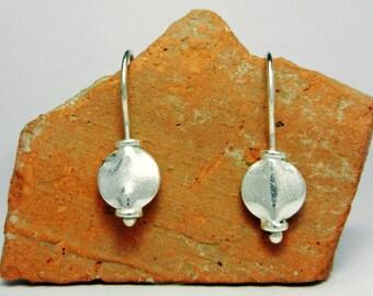 Silver Earrings ~ Sleeper Earrings ~ Minimalist Earrings ~ Small Drop Earrings ~ Lightweight Earrings ~ Everyday Earrings ~ Dangle Earrings