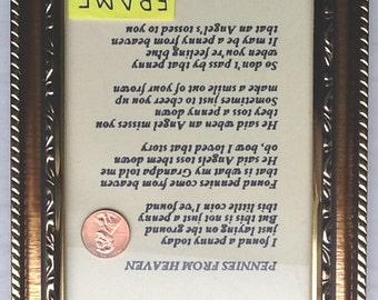 Pennies From Heaven Story - Framed