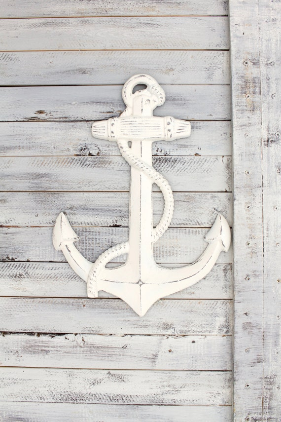 Rustic Home Decor Metal Anchor Wall Art Anchor By