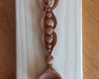 Spoon seed pod