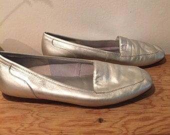 Edie Silver Flats