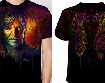 Daryl Dixon Crew Neck Tee ( Please order a size SMALLER than you wear )