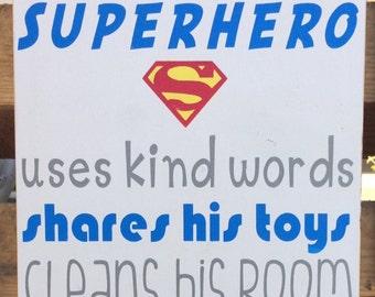 a  true SUPERHERO