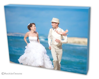 Christmas Gift, Personalized Canvas, Photo Prints, Photo To Canvas Print-Gallery Wrap, Canvas Prints, Canvas printing, Wedding picture