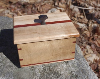 Maple and Padauk Box