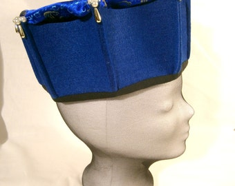 Medieval Cap, Men's Medieval Hat, Manesse Cap, Ren Faire, LARP hat's
