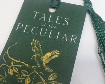 Tales of the peculiar bookmark: Miss Peregrine's peculiar bookmark