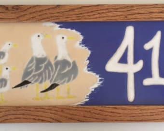 Seagulls address tile