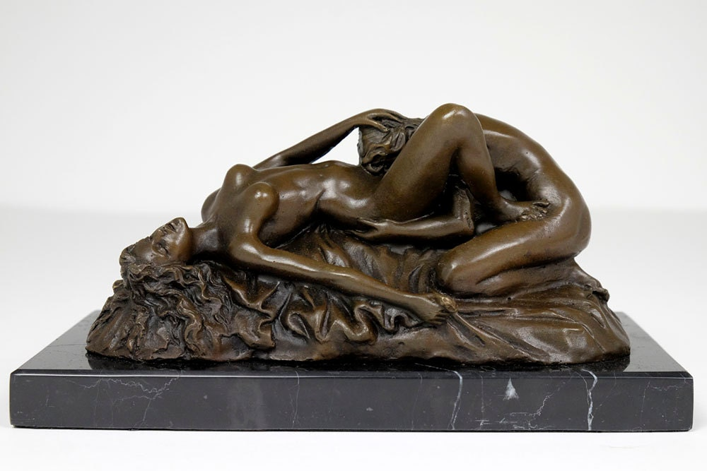 Erotic Statue Lesbian Couple Having Sex Bronze By Yourbronze-9140