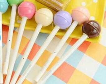 Lollipop Fine Tip Gel Pen