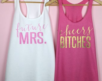 Bachelorette Party Shirts. Bachelorette Party. Bridal Tank Top. Bachelorette.