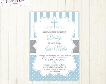 invitacion comunion niño imprimible primera comunion