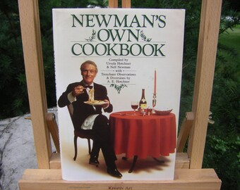 Newman's Own Cookbook 1985 Paul Newman Cookbook