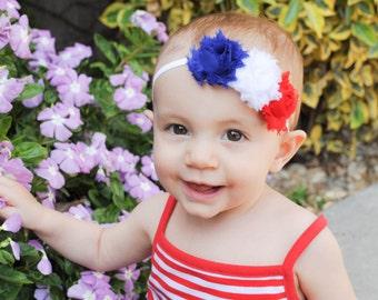 Fourth of July Headbands, Baby Headband, 4th of July Baby Headband, Fourth of July Baby Headband, 4th of July Baby Girl, Baby Girl Headband