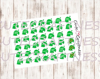 Animal crossing event date Europe and America Planner stickers erin condren