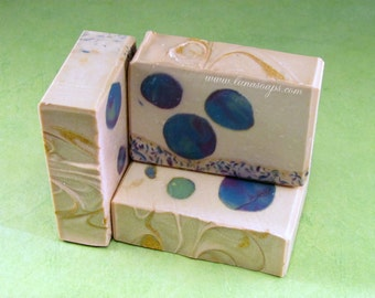 Blooms and Berries Silk Soap