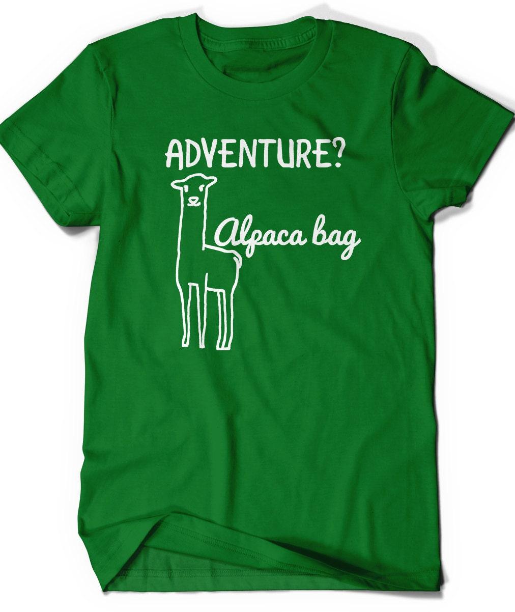funny alpaca llama shirt punny tee mens womens ladies humor. Black Bedroom Furniture Sets. Home Design Ideas