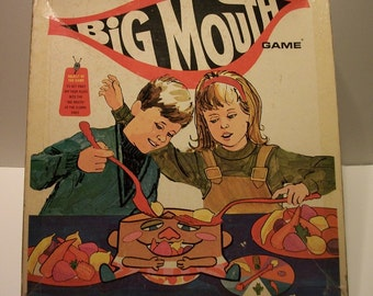 Vintage Big Mouth Game by Schaper- 1970's