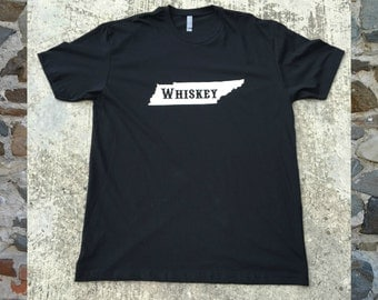 Tennessee Whiskey Tee Shirt - Country T Shirts - Customizable T Shirts