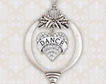 Dance Heart Christmas Ornament