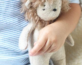 Felt Lion Toy- Tati Lion Cub- Toy Lion-Stuffed Animal