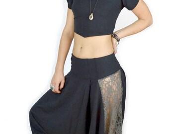 Harem Pants - Black
