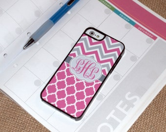Pink iPhone Case, Pink iPhone 6 plus case, Pink Chevron iPhone 6 Case, pink iphone, iphone pink, iphone 7 pink, gift for sister, iphone 7