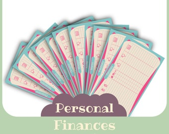 Finance planner - formato Personal - Italian, English & French