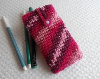 handmade phone case crochet cellphone sleeve  iphone case LG apple samsung sony nokia blackberry