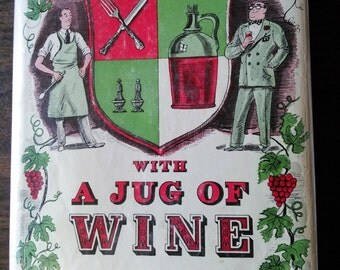 With A Jug of Wine by Morrison Wood 1958