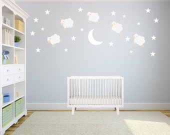 Wall Decals Nursery, Wall Decal Nursery, Nursery Wall Decal, Nursery Wall Decal, Baby Wall Decal, Kids Wall Decal, REMOVABLE and REUSABLE